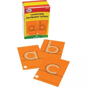 Lowercase Sandpaper Letters