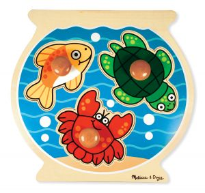 Large Peg Puzzle Fish Bowl