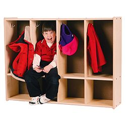 4-Section Toddler Locker