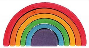 Medium Rainbow - 6 pcs