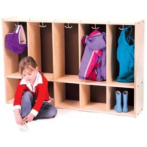 5- Section Toddler Locker