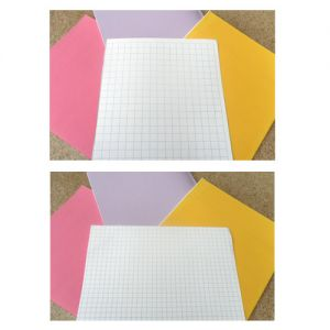 Loose Sheets 8.5 inches x 7 inches large/small squares full PG both sides 500 sheets