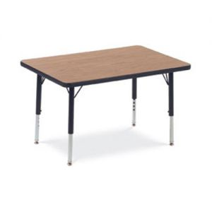 Rectangle table with short legs size - 24x36