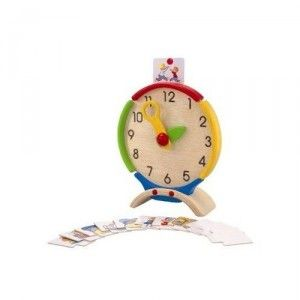 Clock with Activity Cards