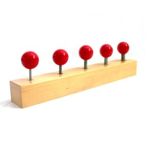 Nuts and Bolts - Red Knobs