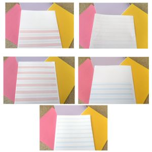 Loose Sheets 8.5 inches x14 inches pink, blue, or red full PG, ½ PG both sides 500 sheets