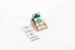 Three Part Cards - Tree