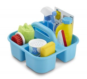 Spray, Squirt & Squeegee Cleaning Set