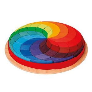 Colour Circle Spirals
