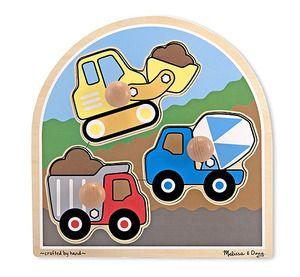 Construction Site Jumbo Knob Puzzle