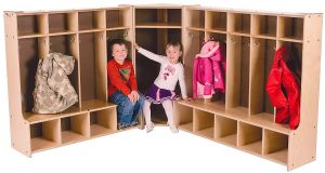 Coat Cubby 5 Section