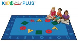 Early Learning Value Rug 6' x 9'