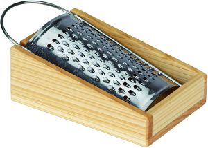 Grater with Wooden Box