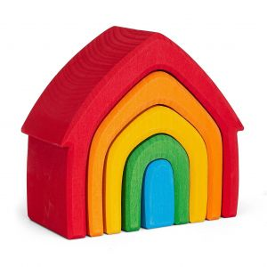 Rainbow House Stacker