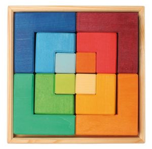 Learning Square Puzzle - Large