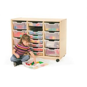 3 Section Tray Storage