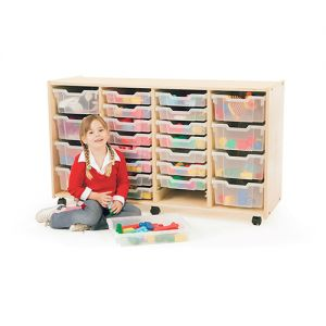 4 Section Tray Storage