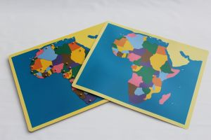 Puzzle Map of AFRICA - NOT FRAMED