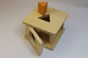 Imbucare box with Triangular Prism..