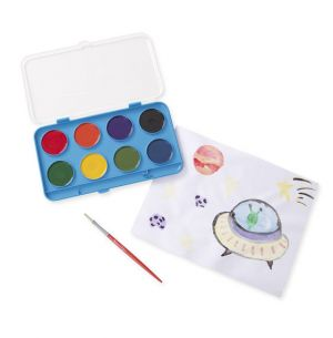 Jumbo Watercolor Set (8 colors)
