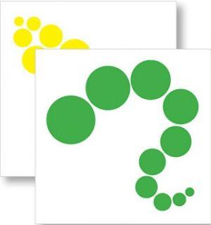 Knobless Cylinder Pattern Cards