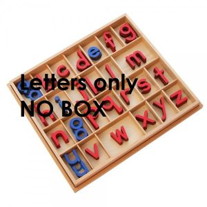 Small Moveable Alphabet - NO BOX