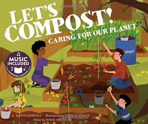 Lets Compost Book with CD