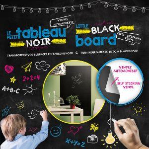 Little Black Board - Self Sticking Vinyl Blackboard