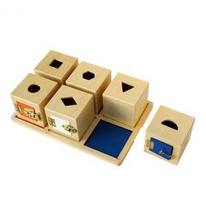 Lock Boxes - Set of 6