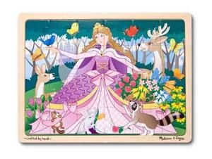 Wooden Jigsaw Puzzle Woodland Princess