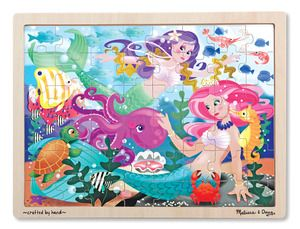 Wooden Jigsaw Puzzle  Mermaid