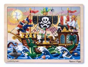 Wooden Jigsaw Pirate Adventure