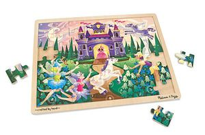 Wooden Jigsaw Puzzle Fairy Fantasy