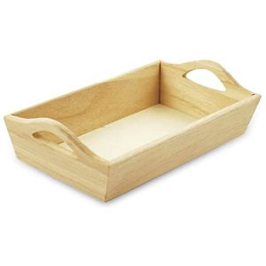 Paintable Wooden Tray