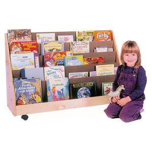 Book Rack - 48 x 15 x 32