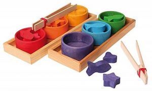 Sorting Game - Rainbow Bowls