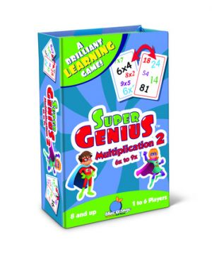 Super Genius - Multiplication 2 (6x to 9x)