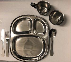 Stainless Steel Dinnerware - Child Sized