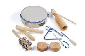 Musical Instruments Set -Natural