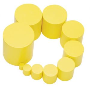 Yellow Knobless Cylinder